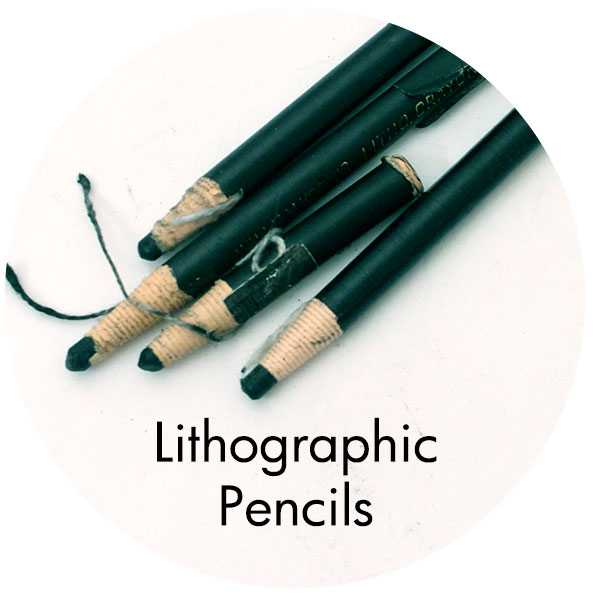 Art Supplies: Lithographic Pencils