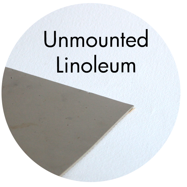 Art Supplies: Unmounted Linoleum Block