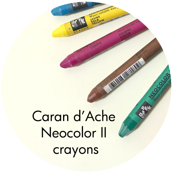 Art Supplies: Caran d'Ache Neocolor II Crayons
