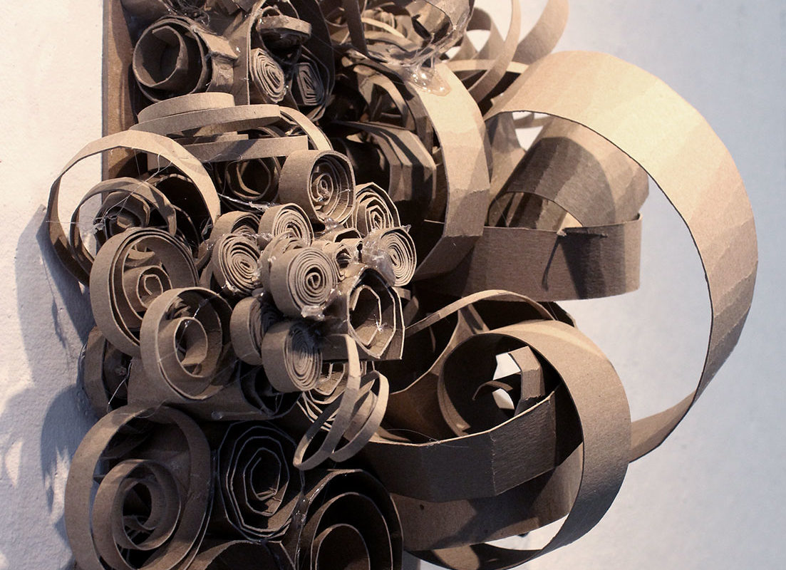 Chipboard Personality Sculpture, Aleida Gomes