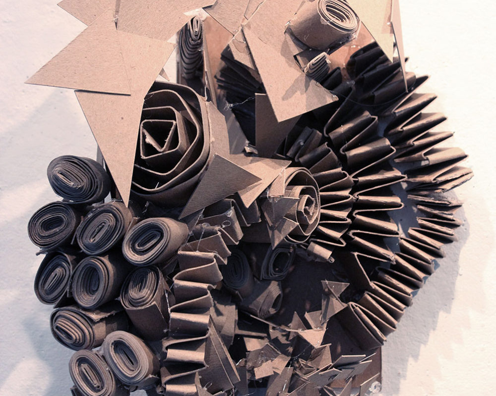 Chipboard Personality Sculpture, Mica Furtado