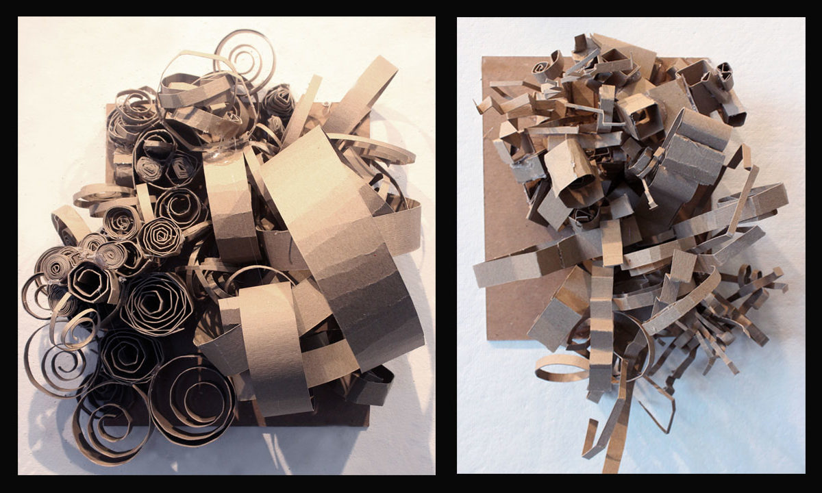 Chipboard Personality Sculptures, Aleida Gomes