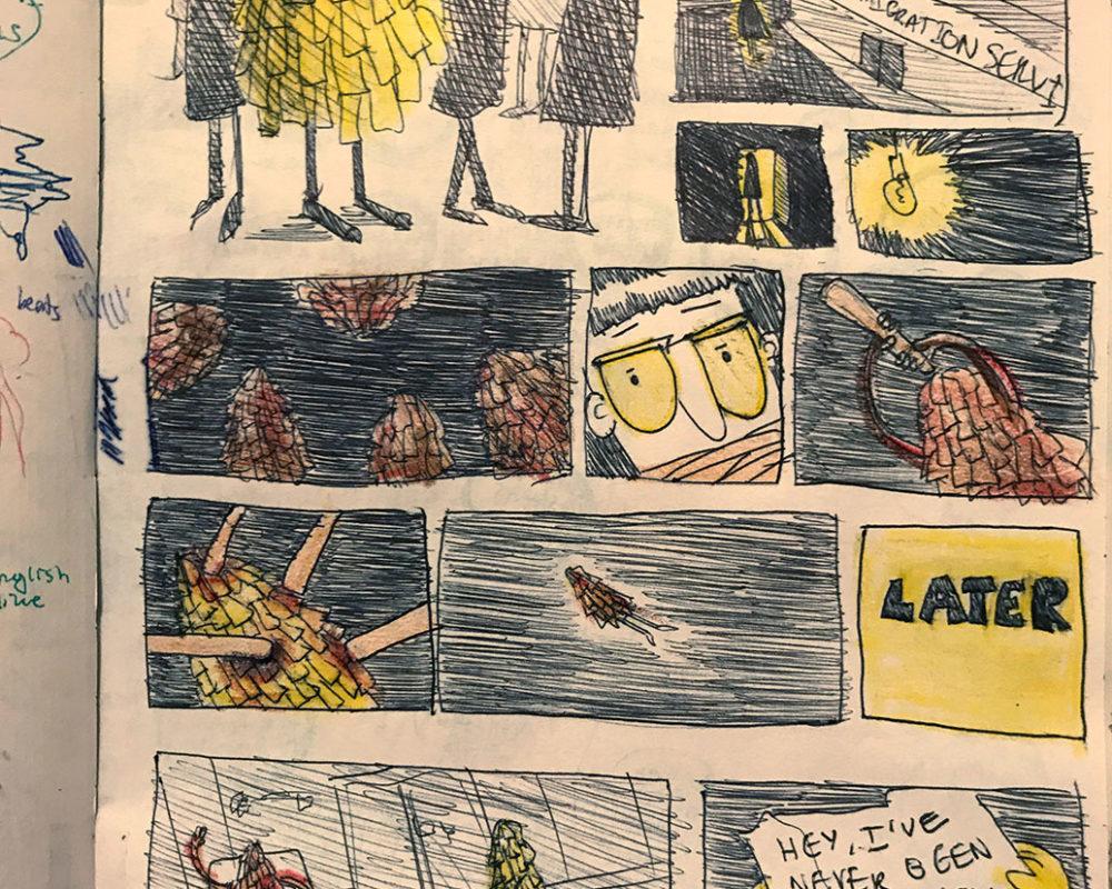 Sketchbook, Julie Sharpe