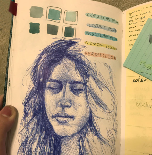 Sketchbook, Julie Sharpe