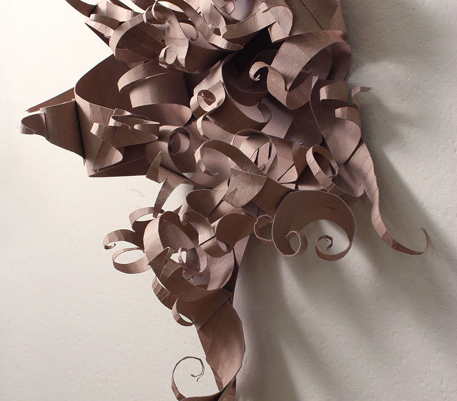 Chipboard Personality Sculpture