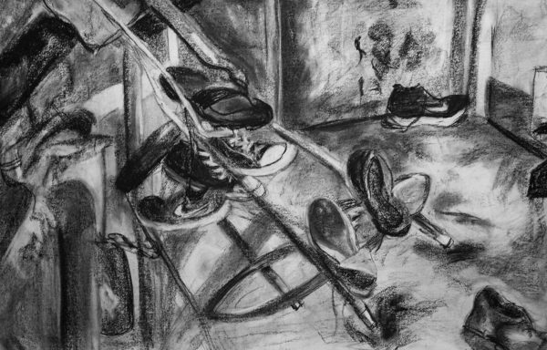 Charcoal Drawing, Alexia Towle