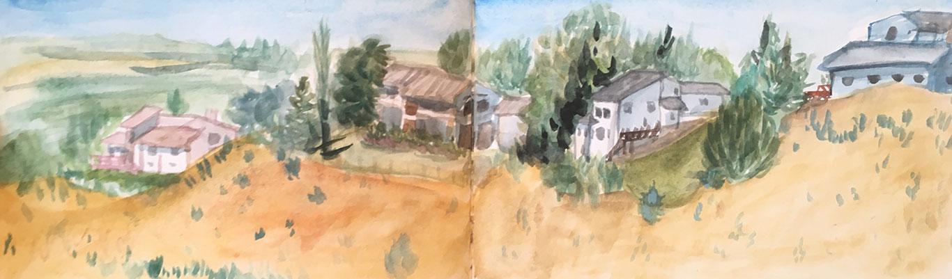 Alexia Towle, Sketchbook