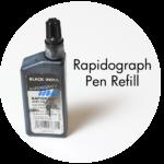 Art Supplies: Rapidograph Pen Refill