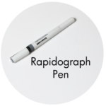 Art Supplies: Rapidograph Pen