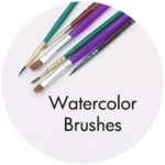 Art Supplies: Watercolor Brushes