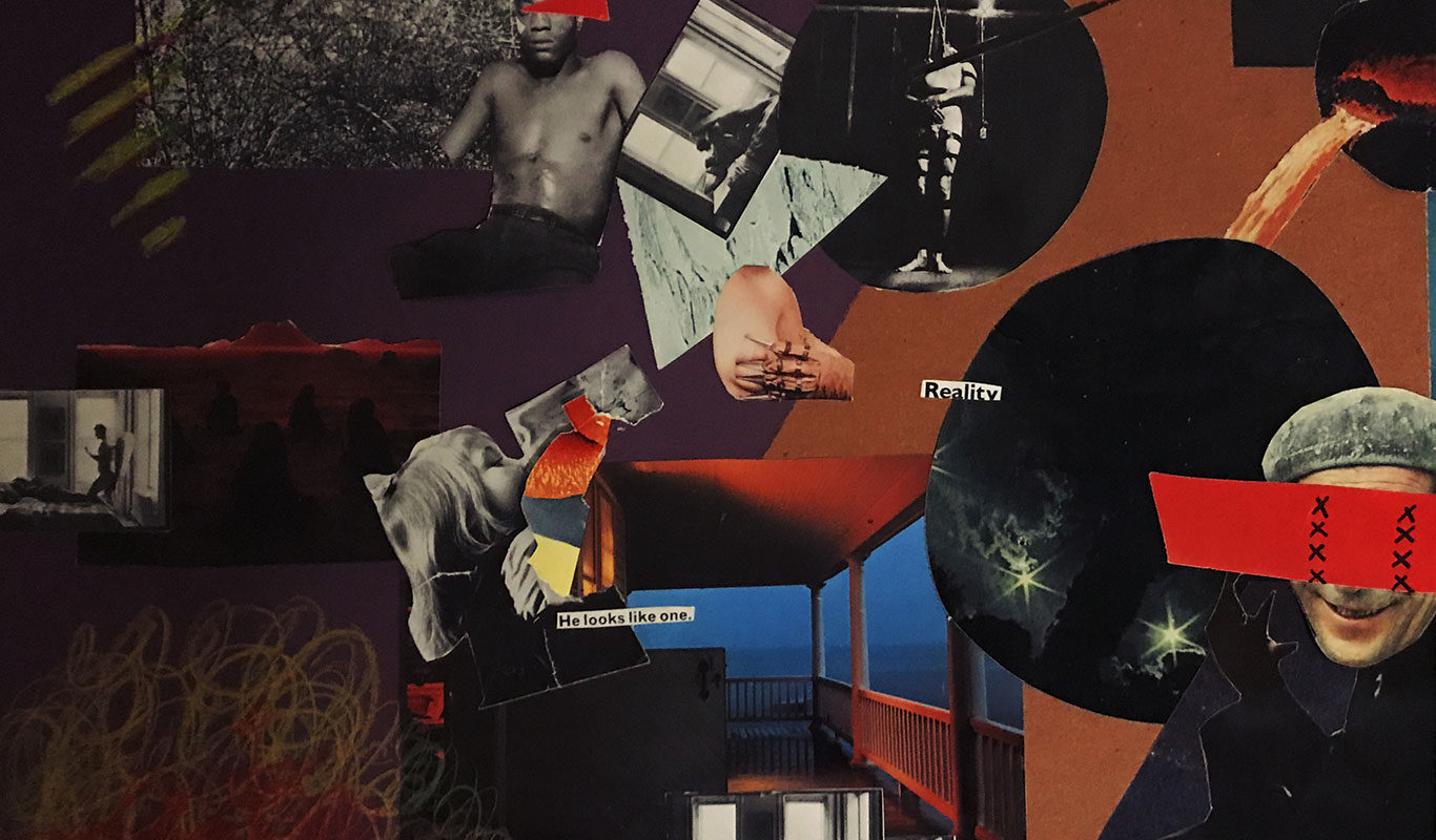 Mixed Media Collage, Justin Gotzis
