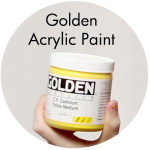 Art Supplies: Golden Acrylic Paint