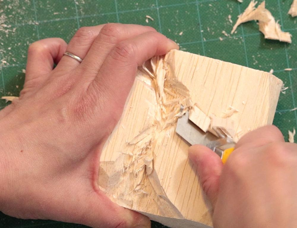 Balsa Wood Sculptures