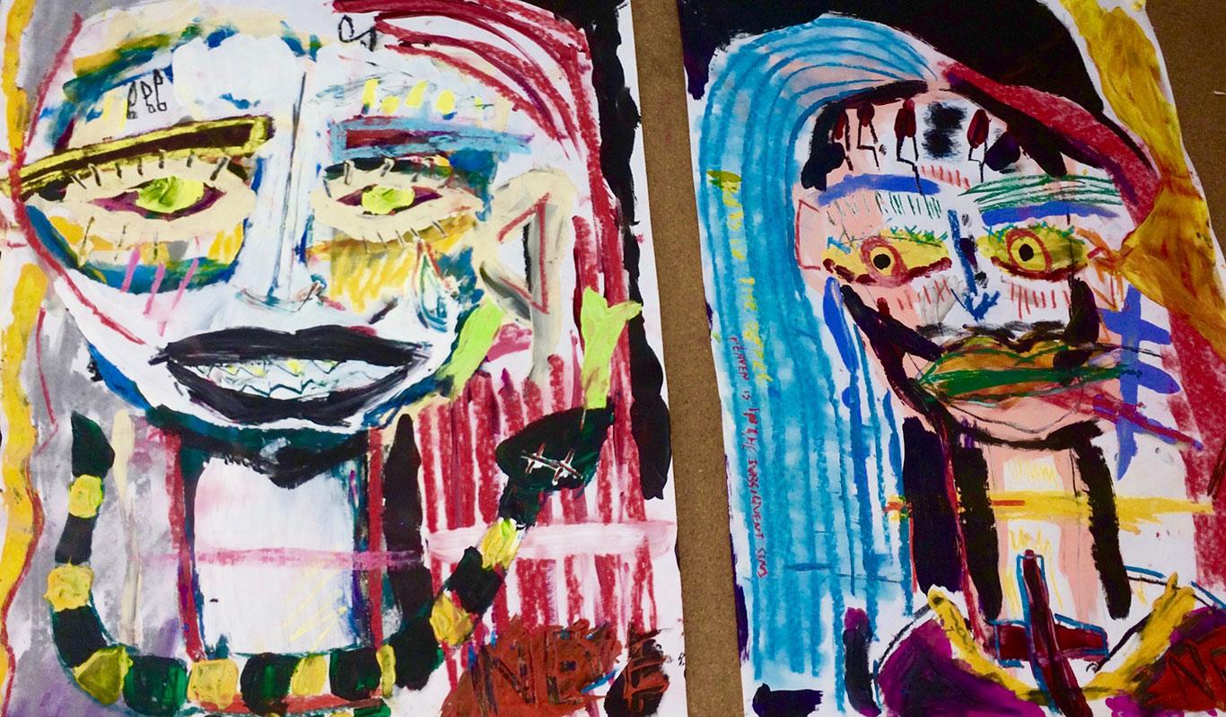 Portrait Paintings, Neve Rechan