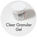 Art Supplies: Golden Clear Granular Gel