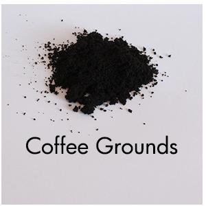 Art Supplies: Coffee grounds