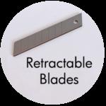Art Supplies: Retractable Blades