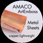 Art Supplies: ArtEmboss Copper Sheets