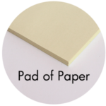 Art Supplies: Pad of Paper