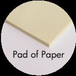 Art Supplies: Pad of Paper