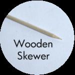 Art Supplies: Wooden Skewer