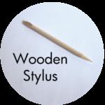 Art Supplies: Wooden Stylus