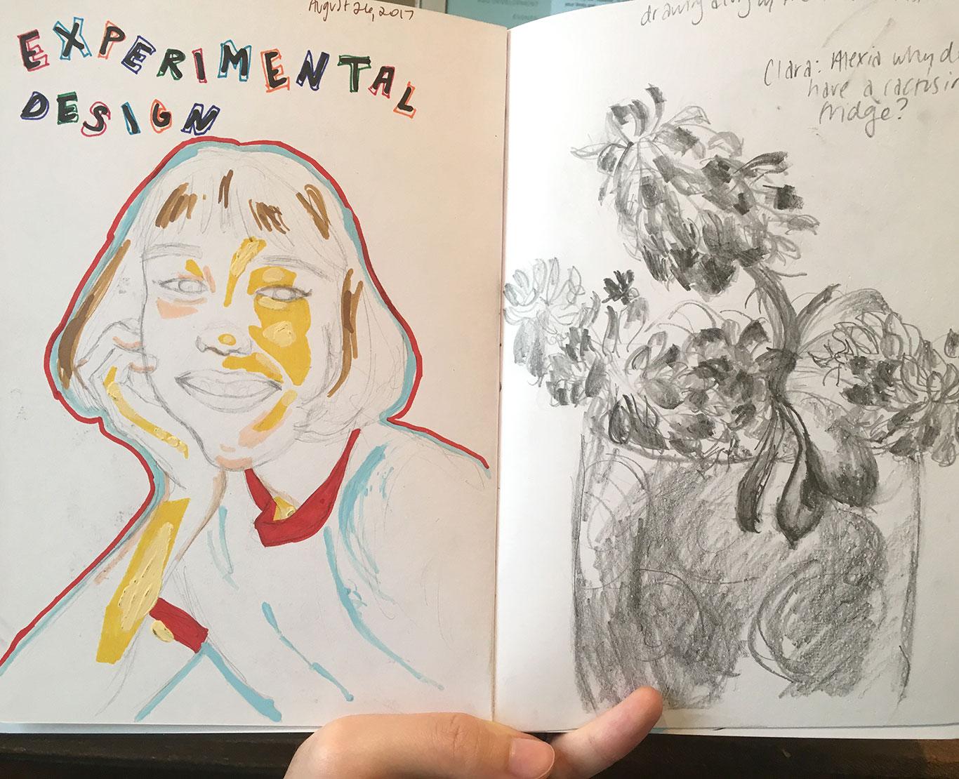 Sketchbook, Alexia Towle