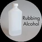 Art Supplies: Rubbing Alcohol