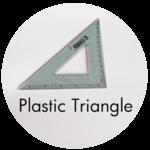 Art Supplies: Plastic Triangle