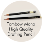 Art Supplies: Tombow Mono High Quality Drafting Pencil