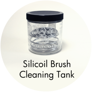 Art Supplies: Silicoil Brush Cleaning Tank