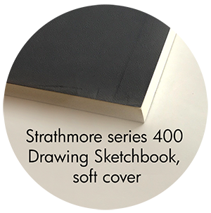 Art Supplies: Strathmore Softcover Sketchbook