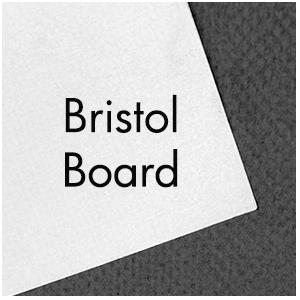 Art Supplies: Strathmore Bristol Board