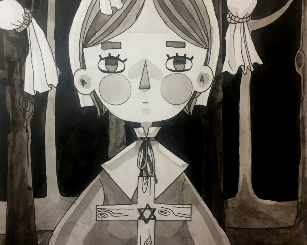 Christina Wu, Historical Illustration: Salem Witch Trials