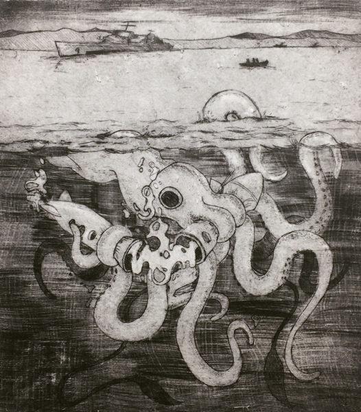 Janice Chun, Intaglio Print