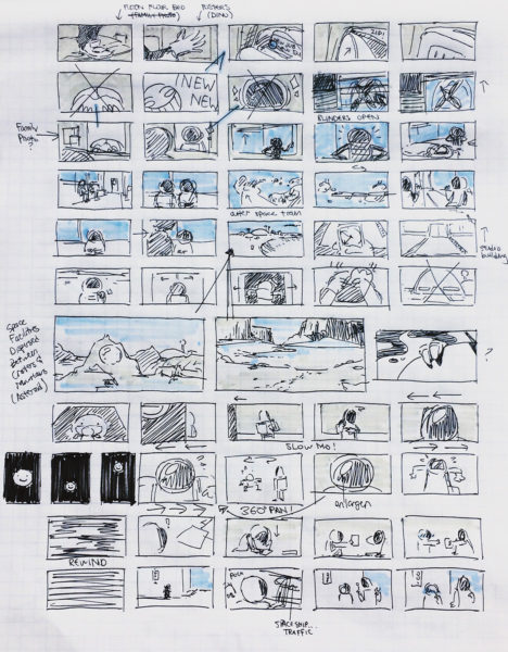 Janice Chun, Storyboard