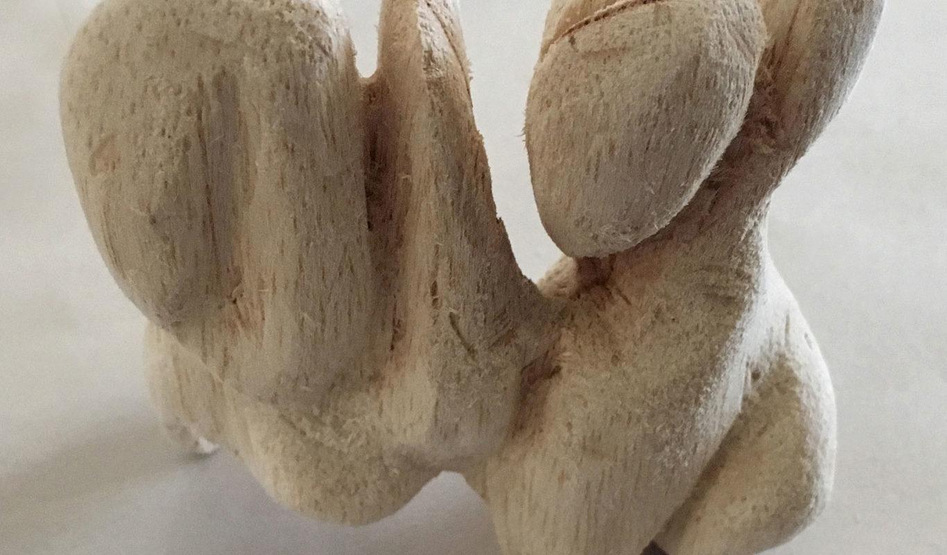 Balsa Wood Sculpture, Cindy Qiao