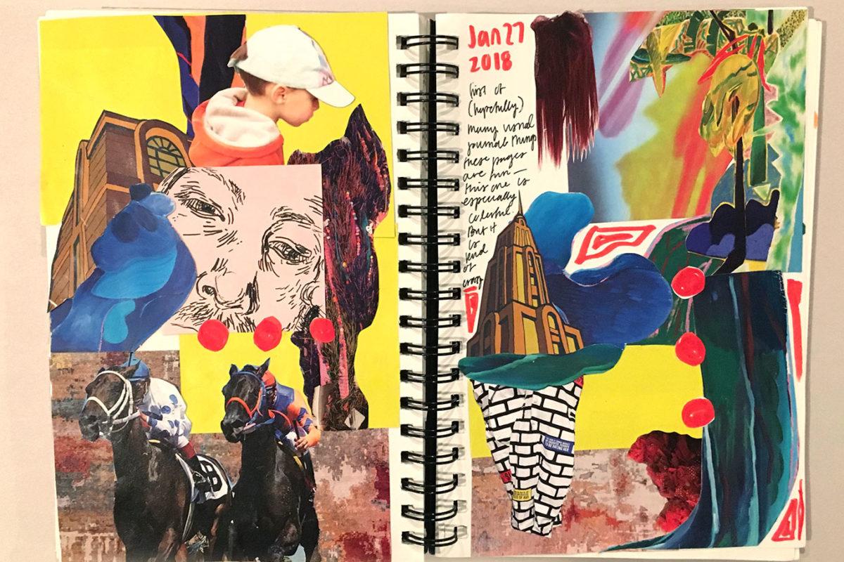 Visual Journaling, Cindy Qiao