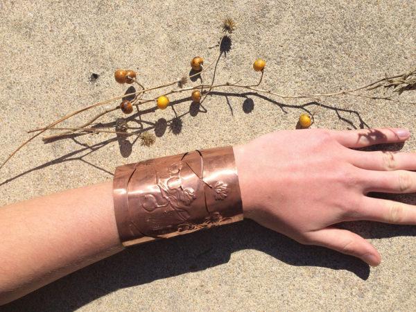 Copper Cuff, Elsa Hillis