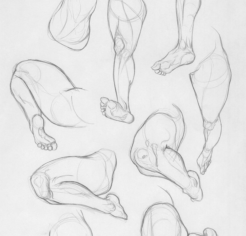 Leg Drawings, Jordan McCracken-Foster