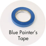 Art Supplies: Blue Painter's Tape