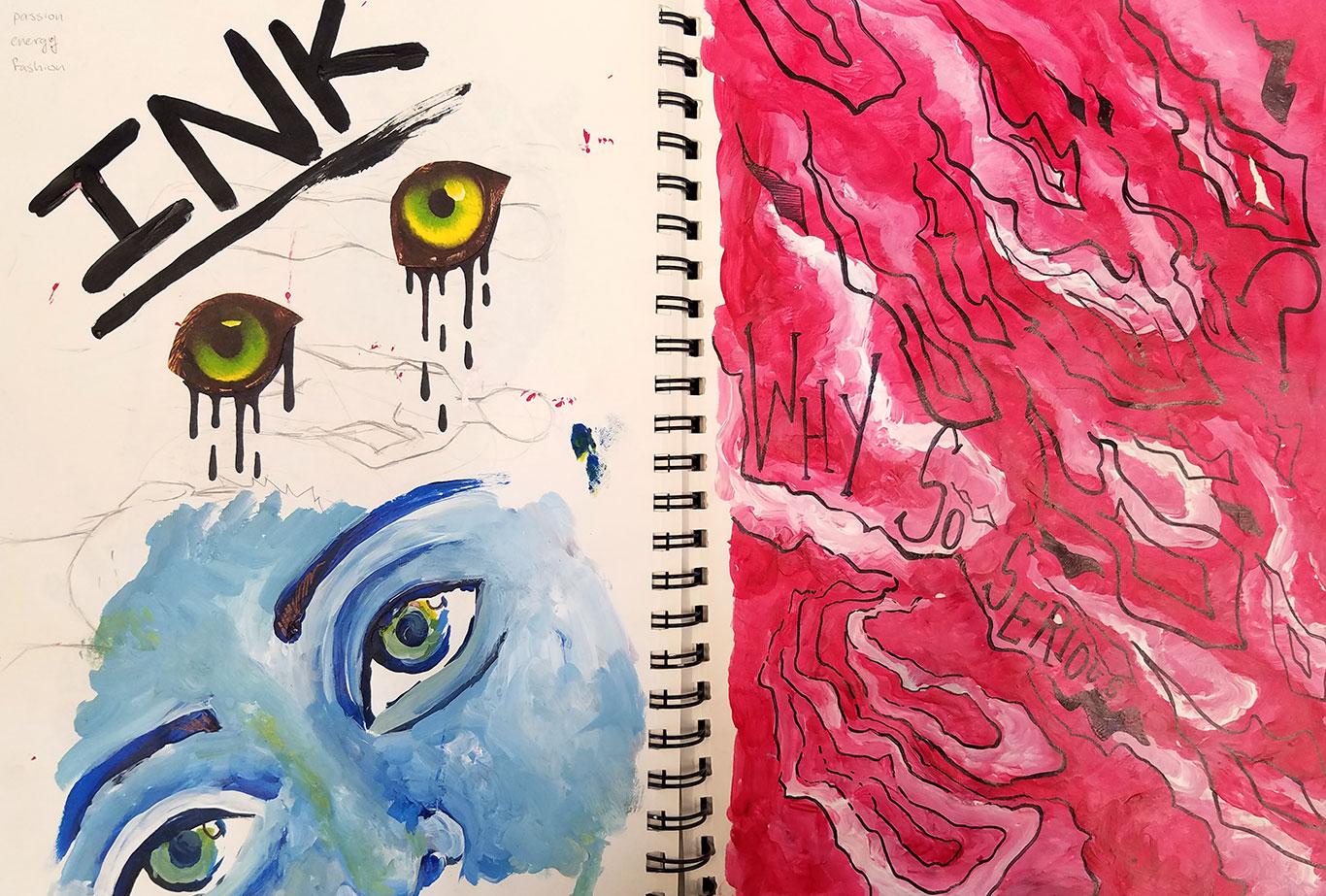 Sketchbook, Sofie Levin