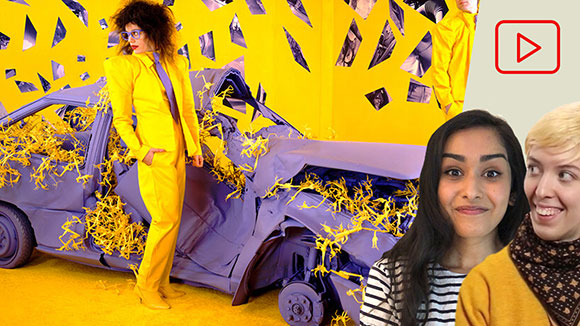 Complementary Colors: Purple & Yellow