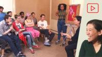 Art School Group Critique