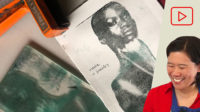 Image Transfers with Gelli Plates and Acrylic Paint