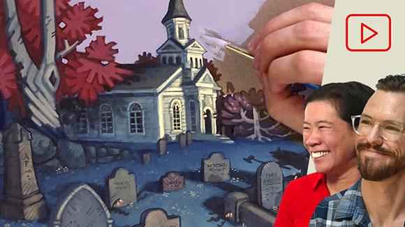 Intro to Gouache Painting