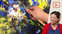 Abstract Acrylic Painting Prompts