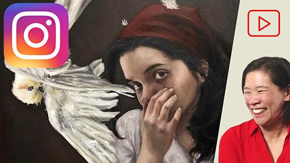 Tina Figarelli, Paintings