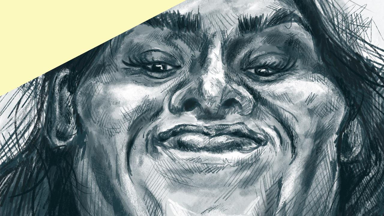 Procreate Self-Portrait, Deepti Menon