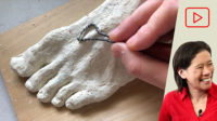 How to Sculpt a Foot in Clay
